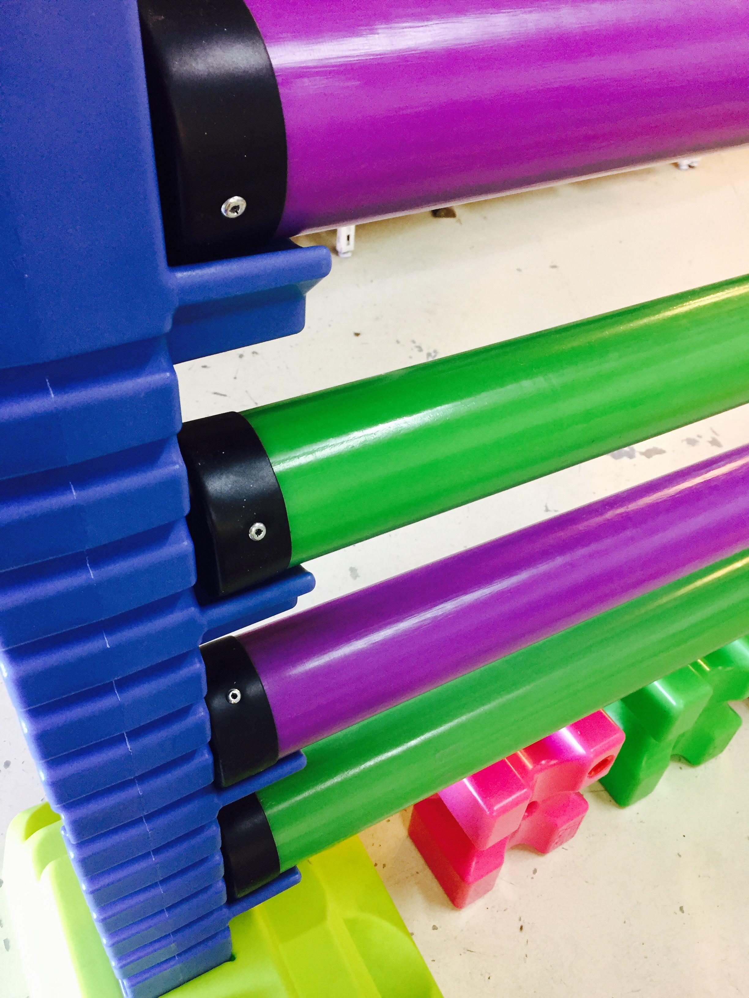 barre plastique violette 3m cheval paradis site officiel